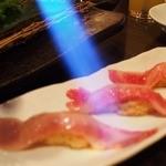 28006783 - ●トロカルビ炙り寿司
