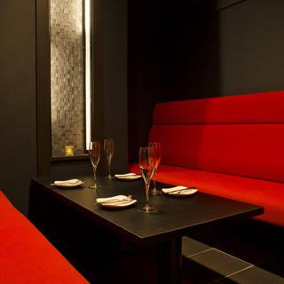 新年会、会食、合コンに☆スタイリッシュな2~5名の完全個室