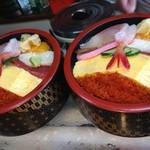 鮨幸 - 料理写真:ランチちらし大盛りは50円増し