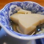 魚菜 - 煮物 竹の子の炊いたん