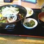 28011648 - 山形牛ステーキ丼2300円
