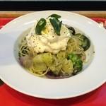 セガフレード・ザネッティ - パスタ 野菜のジェノベーゼ~マスカルポーネクリーム~(冷製)
