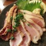 串龍 - 料理写真:地頭鶏たたき