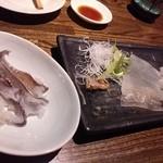 魚亭 - イカ刺し