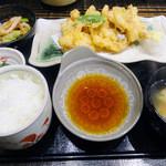 うまいものあり 孝太郎 - 若鶏天ぷら定食