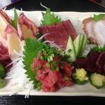 kokochi ダイニング 風琉里(ふるさと) - 宴会メニュー(刺身盛合せ)