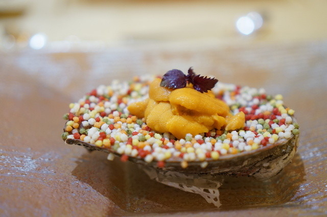 トゥ・ラ・ジョア - 真蛸と鮑のオーブン焼き