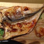 和食と和酒 磯じまん - この日の焼魚はあじの干物