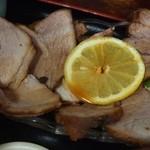 竹生 そば処 - 焼豚定食