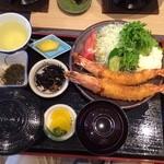 宝彩 伊勢 - 海老フライ定食大あさり付きで2600円