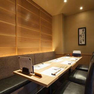 神楽坂 今井屋本店 - 【接待・会食に】4席×1室、6席×1室、8席×1室の個室をご用意