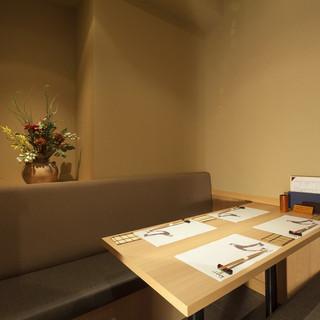 神楽坂 今井屋本店 - 【個室】ご接待や会食にご利用くださいませ。4席×1室、6席×1室、8席×1室をご用意しております。
