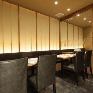 神楽坂 今井屋本店 - 【テーブル席】落ち着いた雰囲気の空間でゆったりと…
