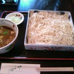 京屋 - いんちきそば(840円) ※画像が縮小され、左端は切れてます