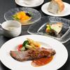 レストラン亀遊亭 - 料理写真:人気のステーキコースです。