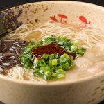 麺屋 極み - 料理写真:ラーメン(細麺・太麺)550円  替玉(細麺・太麺)100円