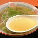 西湖 - 西湖・タンメン スープ(2014.02)