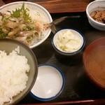 太平山酒蔵 - アジタタキ定食¥680