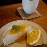 ウッドプロ - 甘夏のレアチーズケーキ