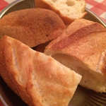 Brasserie Café ONZE - フランスパン(1ヶ¥100)