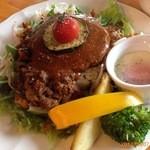 Naturalcafe そら - ロコモコ丼