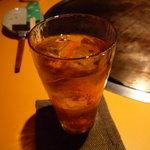鉄板屋 欣 - ☆ウーロン茶もゴクリ(^◇^)☆