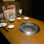 味樹園 - 落ち着けるテーブル個室