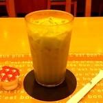 モスバーガー - アイス抹茶ミルク