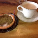 SOHSOH - チャイ、桜とほうじ茶のおからティラミス
