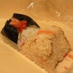 Omusubigombee - おにぎり 紀州南高梅と鮭玄米