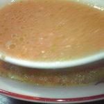 中華料理紅蘭 - 四川風ラーメン・スープアップ