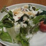 28117205 - ランチセットのサラダ。