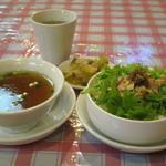 横浜中華街 福養軒 - 若鶏の葱正油ごはん(ミニサイズ)