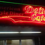 デルタ カフェ - 看板