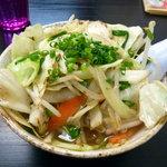てぃーだ - 野菜そば(850円)