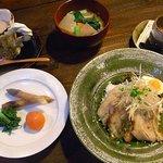 陶之助+ - 料理写真:オリジナルランチA(あぶりチャーシュー丼set)