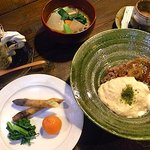 陶之助+ - オリジナルランチB(笠間産自然薯丼set)