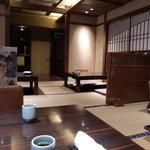 蟹工船 - 掘りごたつ座敷の部屋(個室ではない)
