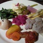 鎌倉バル - 惣菜の盛合わせ