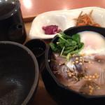 こめらく - 宇和島名物 鯛とアジの漁師風ぶっかけどんぶり飯