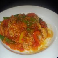 レストランausu - トリッパのトマト煮