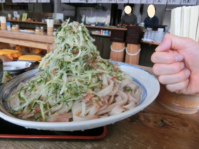 手打うどん庄司 - 夏野菜が山盛り!