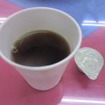 中華料理 煙臺閣 - アフターコーヒーはセルフサービスで