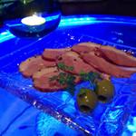 BAR Sea Drop - 合鴨のパストラミ700円