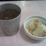 タイ料理研究所 - お茶と生春巻き