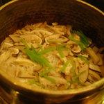 京料理 木乃婦 - 松茸釜飯