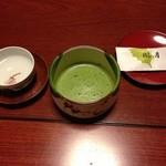 28141059 - 抹茶、お茶菓子