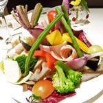 28141417 - 季節野菜のバーニャカウダ