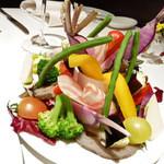 28141418 - 季節野菜のバーニャカウダ