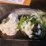 汁や - ポテトサラダ580円